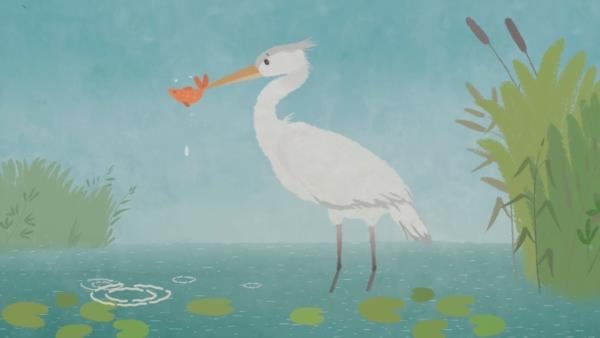 Mama Heron won CIFEJ Prize at the 10th Tehran International Animation Festival